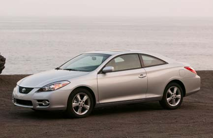 Toyota Camry Solara Convertible V6 SE - Front Angle, 2004, 800x600, 6 of
